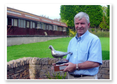 KEN DARLINGTON 2ND PLACE AND 1ST UK PIGEON RACE 6