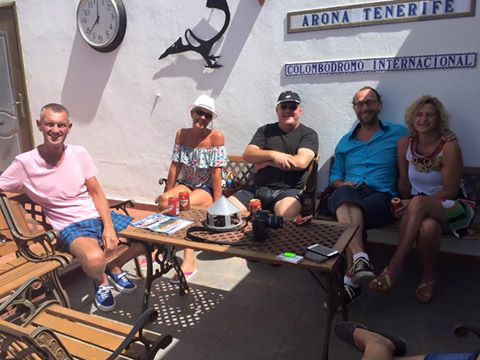 Gail & Graham Spencer from UK and Belgian friends